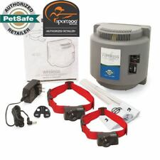 PetSafe Wireless 2 Dog Containment System PIF-300 Covers 1/2 Acre - No Wires!