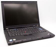 Laptop Lenovo T61 C2D T7300 2.00 GHz, 1440x900, 4GB RAM, NEW SSD 256GB, Win10Pro