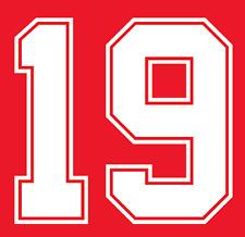 England Gascoigne Nameset Shirt Soccer Number Letter Heat Print Football 1990 A