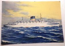 tss Olympia . Greek Line . Ocean Liner Cruise Ship Regal Empress Boat Caribe
