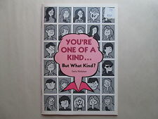 YOU'RE ONE OF A KIND but What Kind? BY EMILY NICHOLSON 1975 Christian Booklet