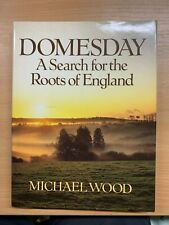 """1986 """"DOMESDAY - A SEARCH FOR THE ROOTS OF ENGLAND"""" ILLUSTRATED HARDBACK BOOK"""