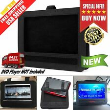 Car Portable DVD Player Headrest Mount 9-Inch Holder LCD Screen Strap Case New