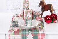 Tischläufer Angelina aus Linclass® Airlaid 40cm x 4,80 m, 1 Stück - Weihnachten