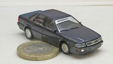 Herpa   Sondermodell;  Audi V8,   d`blau met.  Intermodellbau '92