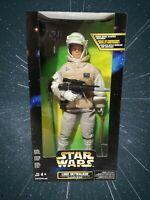 Star Wars Luke Skywalker Action Collection Figure In Hoth Gear Firing Rebel Gun