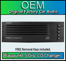 Citroen C3 5 Disc changer works with RD4 radio, Blaupunkt 5CD player with Keys