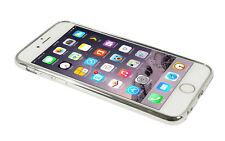 Eloja ® iPhone 6 plus funda TPU cover case bumber metal plata óptica