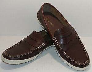 Men's Cole Haan Pinch Weekender Roadtrip Boat Penny Loafers / Shoes Size 10.5 M