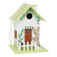 LEGLER Small Foot Pastel Wooden Birdhouse for Wildlife Garden, Unisex, 3 Years +