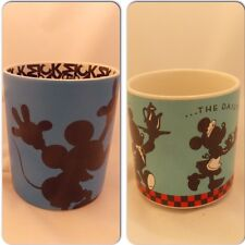 2 Mickey Mouse Minnie Mouse Disney Mug Cup Silhouette The Daily Grind