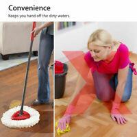 Vileda Easy Wring Clean Turbo Microfibre Mop Fit Bucket Spin Replace Heads Floor
