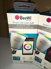 Beewi Bluetooth Smart LED Light Bulb 7W EQUIVALENT 50 watt A19-E26 BBL227A1US ➨☆