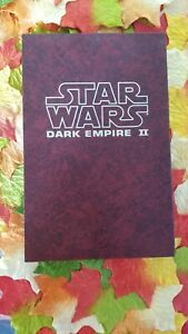 Star Wars: Dark Empire II Hardcover Boxed, First Edition 1995, Signed, 790/1000