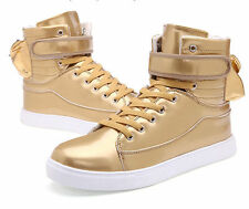 Fashion Men's Casual High Top Sport Sneakers Athletic Running Hip-hop Shoes I73