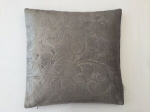 Top Quality Embossed Crushed Velvet Cushion cover Mustard gold Dove Grey Mauve