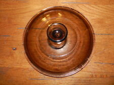 Pyrex V2 5C round Replacement brown/ amber Lid / Cover Visions Cookware