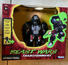 Transformers Vintage Beast Wars Optimus Primal Collectible Action Figure in hand