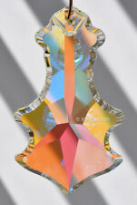 HUGE 89mm Asfour Fancy Crystal AB Prism SunCatcher 3.5 inch
