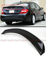 FOR 2008-14 MERCEDES BENZ W204 C63 AMG CARBON FIBER V STYLE TRUNK SPOILER WING