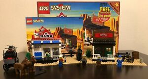 LEGO Wild West 6765 - Gold City Junction - Complete w/Box & Instructions