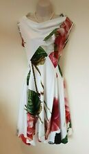 Vivienne Westwood white floral Botanical Rose Print dress Size 44
