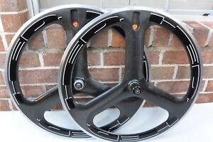 HED 3 Trispoke 650c Wheel Set Shimano/Sram 9/10 Speed Disc Brake