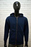 Felpa Cardigan Blu Uomo LEVI'S Taglia Size XXL Pullover Sweater Man Maglione