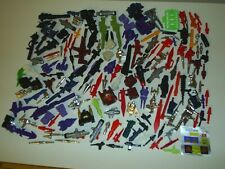 Transformers G1 LOT of 158 Weapons Accessories Parts + 24 Instructions + Promos!