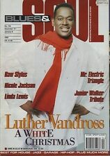 Luther Vandross on Blues & Soul Magazine Cover 1995  Junior Walker   Linda Lewis