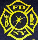 FDNY Shirt NYC Fire Department New York City T- Shirt Sz S