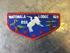 Watonala OA Lodge 169 Older Mint Scout Flap Patch