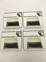 BBC Microcomputer Early Home Computer enthusiast COASTER SET