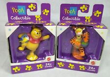 Winnie the Pooh and Tigger Collectibles Mattel Disney Figure 3 inch