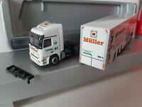 Actros MPI  Schober Transport GmbH 71384 Weinstadt / Drogerie Müller  89081 Ulm