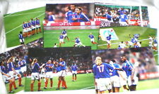 8 PHOTOS DE PRESSE ORIGINALES FOOTBALL FRANCE ALGERIE 2001