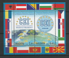Moldova 2008 Moldovan Presidency of the Central European Initiative 2 MNH stamps