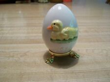 Annual Goebel's V Bee Duck Easter Egg Stand 1979 W Germany Vintage