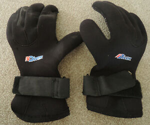 Northerm Diver 5mm Neoprene Wetsuit Gloves Size Large (L), scuba diving