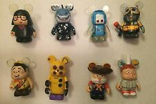 Disney Vinylmation Pixar Series-3, Complete Set Of 8 With Edna Chaser