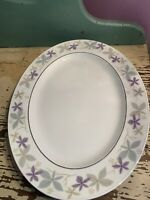 "MCM Easterling Laurette 13"" Oval Serving Platter - Excellent Condition"