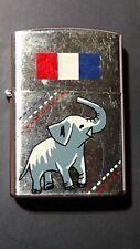 Vintage Amico Cigarette Lighter GOP Republican Elephant  Design
