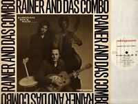 RAINER AND DAS COMBO barefoot rock with rainer and das combo (UK) LP EX+/EX 1986