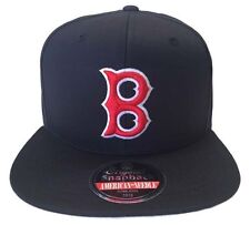 """BOSTON RED SOX """"OUTFIELD"""" FLAT BRIM SNAPBACK HAT NEW & OFFICIALLY LICENSED"""
