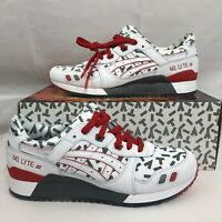 Asics Tiger x GI Joe Storm Shadow Gel Lyte III White Gray 1191A251-100 Multi Sz