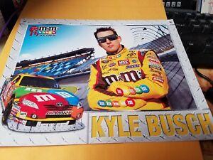 Kyle Busch M & M's Racing 2009  Photo Postcard