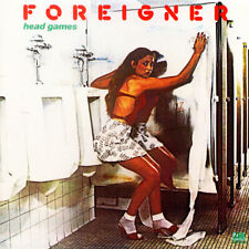 "Album Covers - Foreigner - Head Games (1979) Album Cover Poster 24""x 24"""