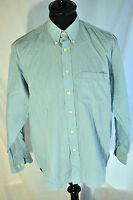 Vintage Burton blue button collar shirt in size medium smart casual mod