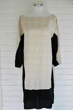 MADEWELL CALLA OVERSIZED PRINTED TUNIC 6 100% SILK COVERUP SAMPLE DRESS