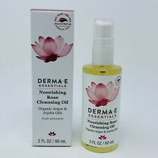 Derma E Nourishing Rose Cleansing Oil Full Size 2oz/60 ml New In Box Exp 01/2022